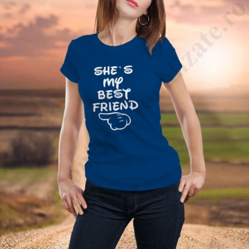 Tricou My Best Friend, tricouri BFF, idei cadouri personalizate
