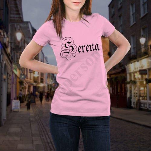 Tricou Serena, tricouri BFF, idei cadouri personalizate
