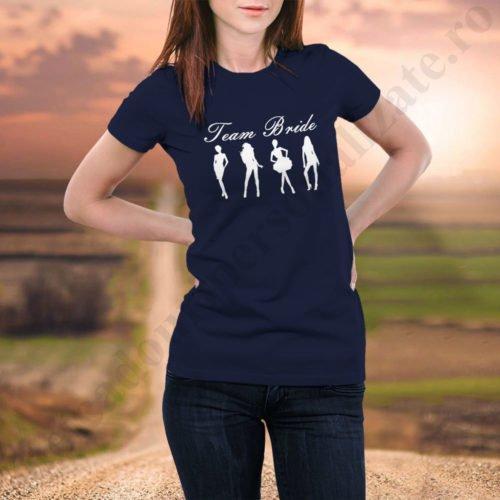 Tricou burlacite Team Bride, tricouri burlacite, idei cadouri personalizate