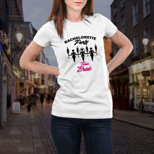 Tricou burlacite Bachelorette Party, tricouri burlacite, idei cadouri personalizate