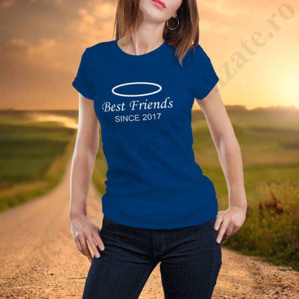 Tricou Best Friends Since, tricouri BFF, idei cadouri personalizate