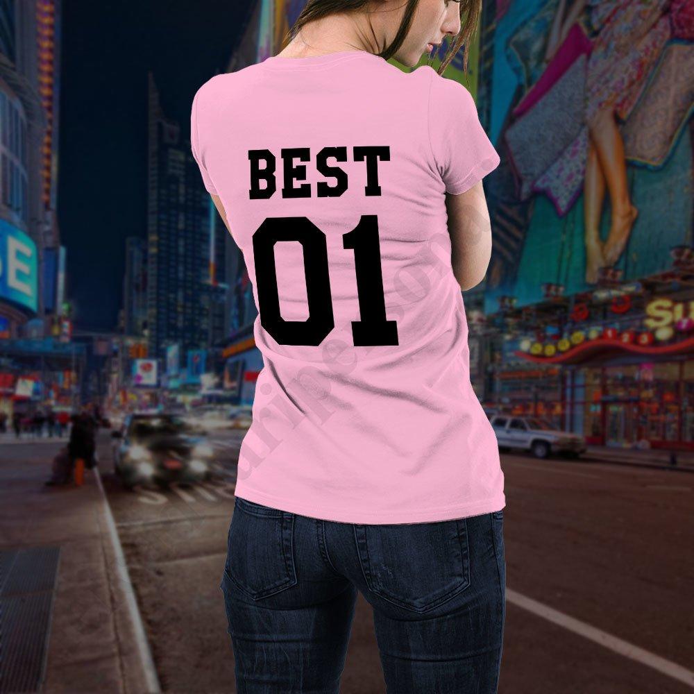 ieftin de vânzare informatii pentru Cele mai ieftine Tricou BFF Best 01 - Bumbac 100% - Tricouri pentru prietene