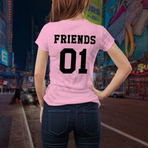 Tricou Friends One, tricouri BFF, idei cadouri personalizate