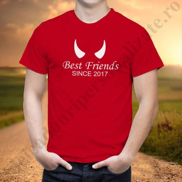 Tricou Friends Since, tricouri BFF, idei cadouri personalizate