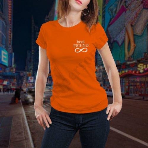 Tricou Infinity BFF, tricouri BFF, idei cadouri personalizate