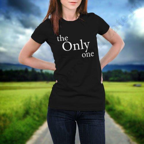 Tricou Only One, tricouri BFF, idei cadouri personalizate
