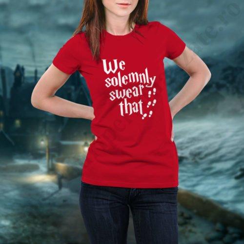 Tricou Swear, tricouri BFF, idei cadouri personalizate