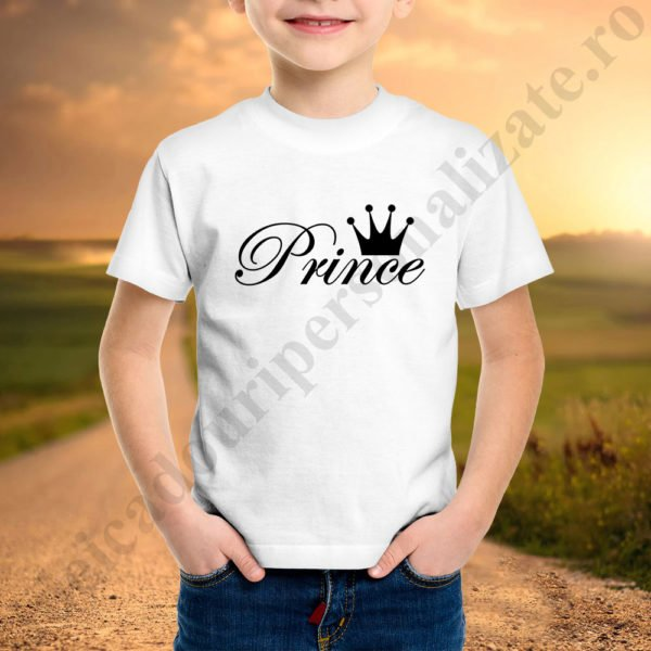 Tricou baietel Prince, tricouri familie, idei cadouri personalizate