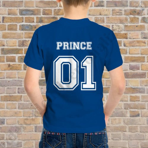 Tricou baietel Prince 01, tricouri familie, idei cadouri personalizate