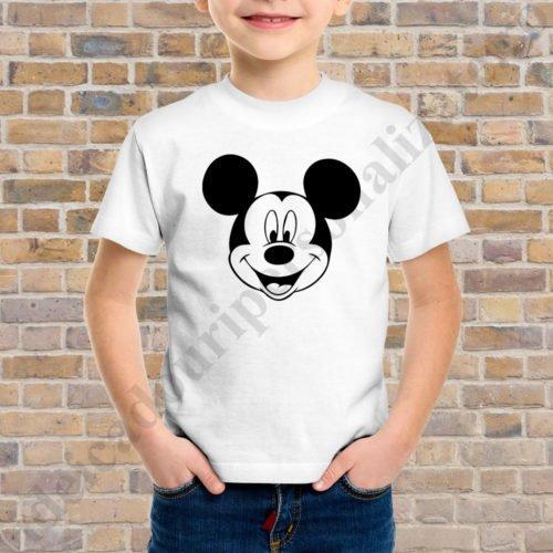 Tricou baietel cu Mickey, tricouri familie, idei cadouri personalizate