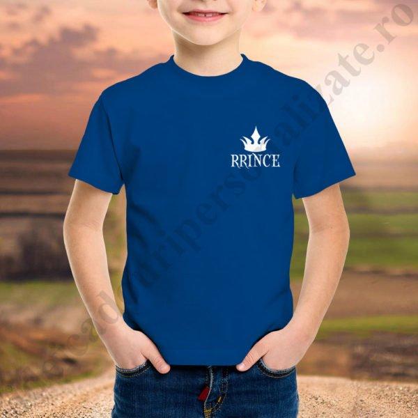Tricou baietel cu Prince, tricouri familie, idei cadouri personalizate