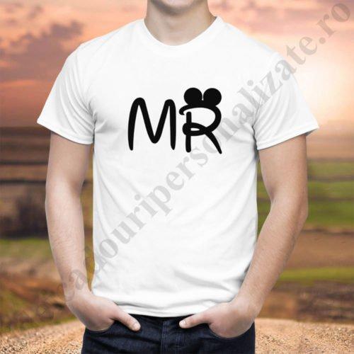 Tricou barbat Mr, tricouri familie, idei cadouri personalizate