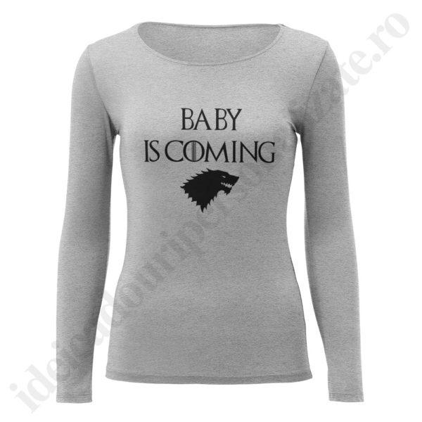 Bluza barbati Watch Begins, Bluza dama Baby is Coming, bluze, bluze cupluri, bluze barbati, bluze dama, idei cadouri personalizate
