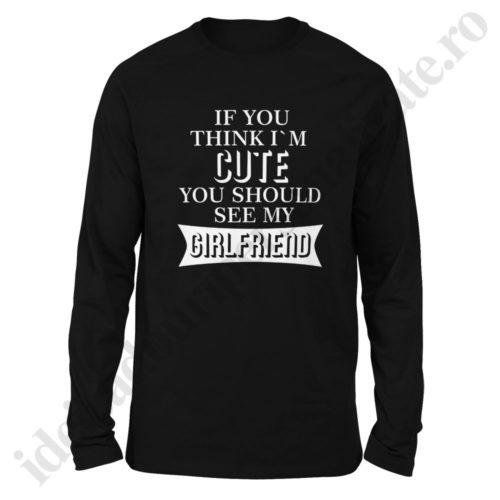 Bluza barbati Cute, Bluza dama Cute, bluze, bluze cupluri, bluze barbati, bluze dama, idei cadouri personalizate
