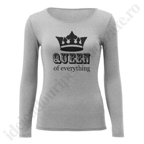 Bluza barbati cu King of, Bluza dama cu Queen of, bluze, bluze cupluri, bluze barbati, bluze dama, idei cadouri personalizate