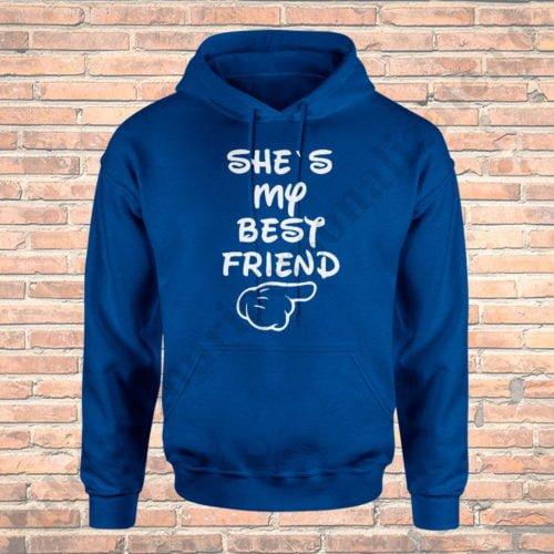 Hanorac Best Friend, haorace BFF, idei cadouri personalizate
