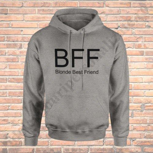 Hanorac Blonde, haorace BFF, idei cadouri personalizate