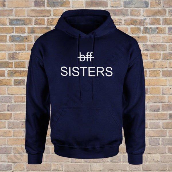 Hanorac Sisters, haorace BFF, idei cadouri personalizate