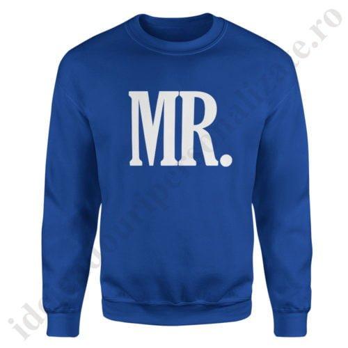 Pulover barbat MR, pulovere cupluri, sweatshirt barbati, idei cadouri personalizate