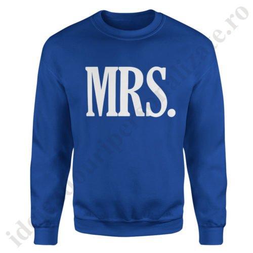 Pulover dama MRS, pulovere cupluri, sweatshirt dame, idei cadouri personalizate