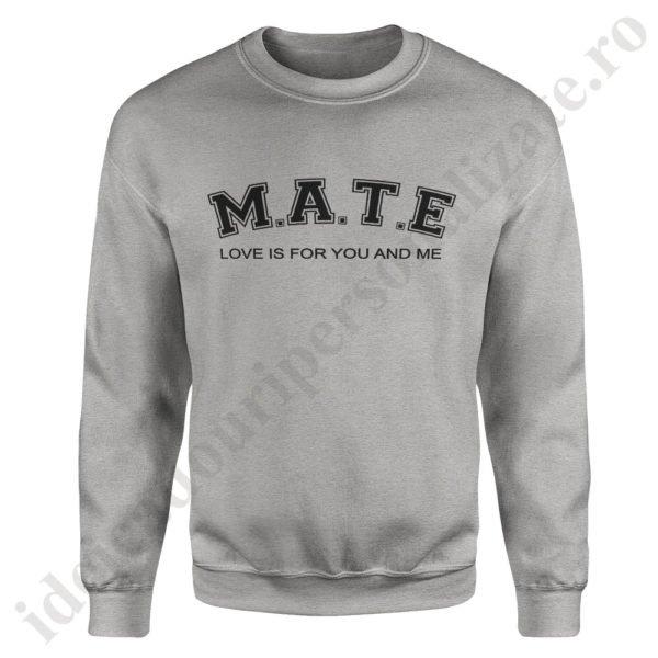 Pulover dama SoulMate, pulovere cupluri, sweatshirt dame, idei cadouri personalizate