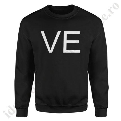 Pulover dama VE, pulovere cupluri, sweatshirt dame, idei cadouri personalizate