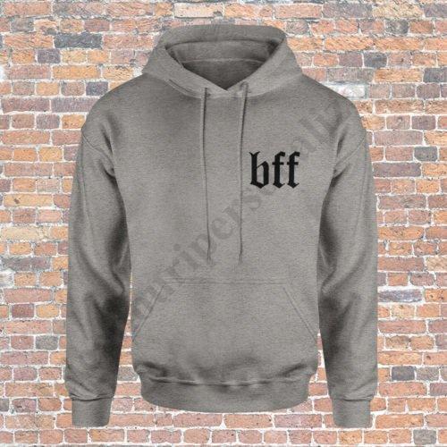 Hanorac BFF, haorace BFF, idei cadouri personalizate