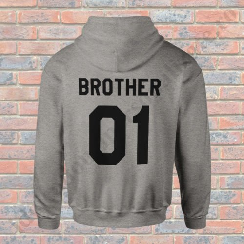 Hanorac Brother One, haorace BFF, idei cadouri personalizate