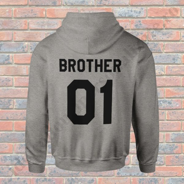 Hanorac Brother One, haorace BFF, idei cadouri personalizate
