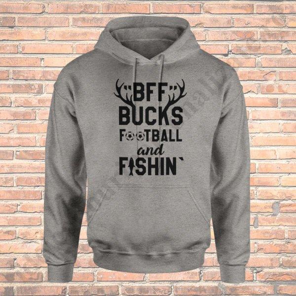 Hanorac Bucks Football Fishing, haorace BFF, idei cadouri personalizate