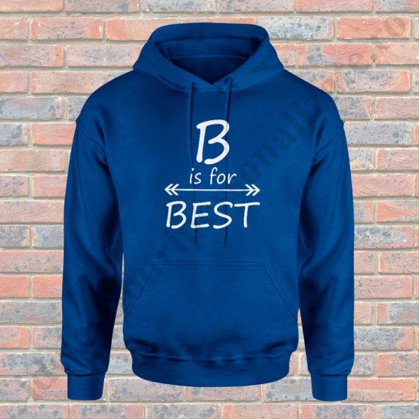 Hanorac For Best, haorace BFF, idei cadouri personalizate