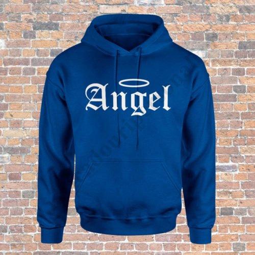 Hanorac barbati Demon, Hanorac dama Angel, Hanorace cupluri, idei cadouri personalizate