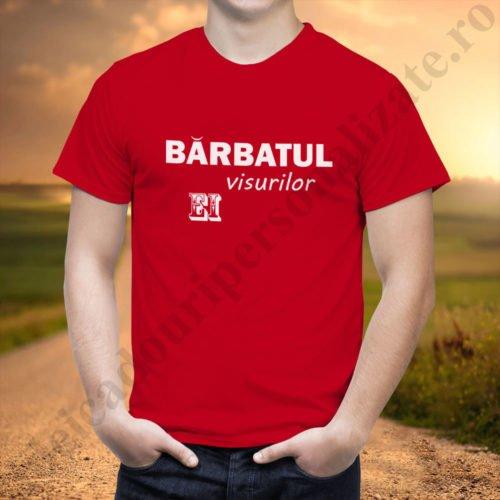 Tricou cupluri Barbatul Ei, tricouri cupluri, idei cadouri personalizate