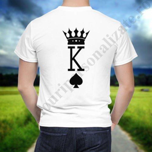 Tricou cupluri Inima Neagra, tricouri cupluri, idei cadouri personalizate