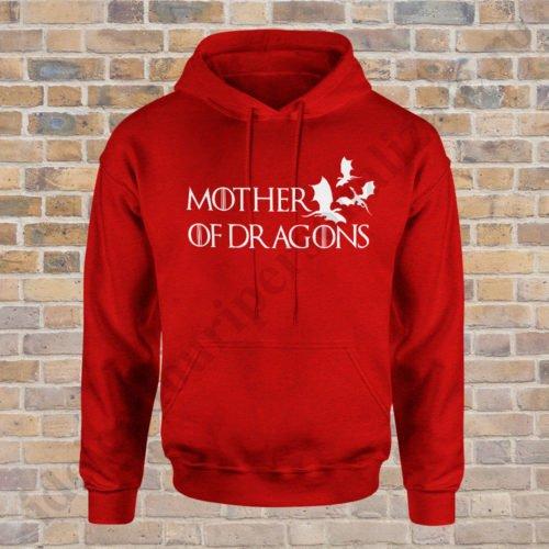 Hanorac Mother of Dragons, hanorace game of thrones, idei cadouri personalizate