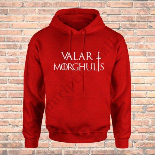Hanorac Valar Morghulis, hanorac game of thrones, idei cadouri personalizate