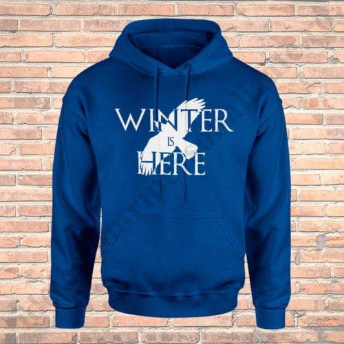 Hanorac Winter is Here, hanorace game of thrones, idei cadouri personalizate