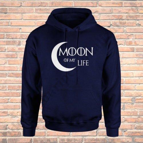 Hanorac cupluri Moon of my Life, hanorace cupluri, idei cadouri personalizate