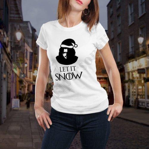 Tricou Game of Thrones funny - Dama, tricouri game of thrones, idei cadouri personalizate