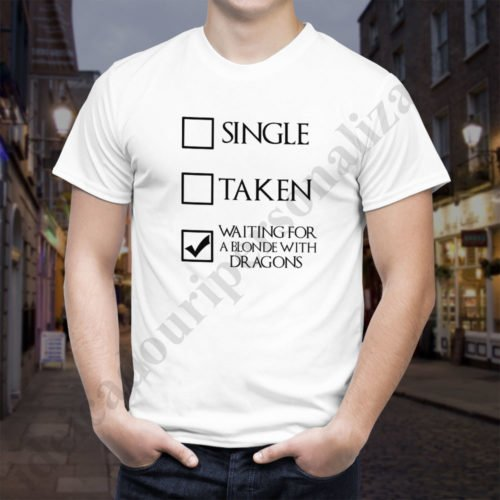 Tricou GoT Waiting, tricouri game of thrones, idei cadouri personalizate