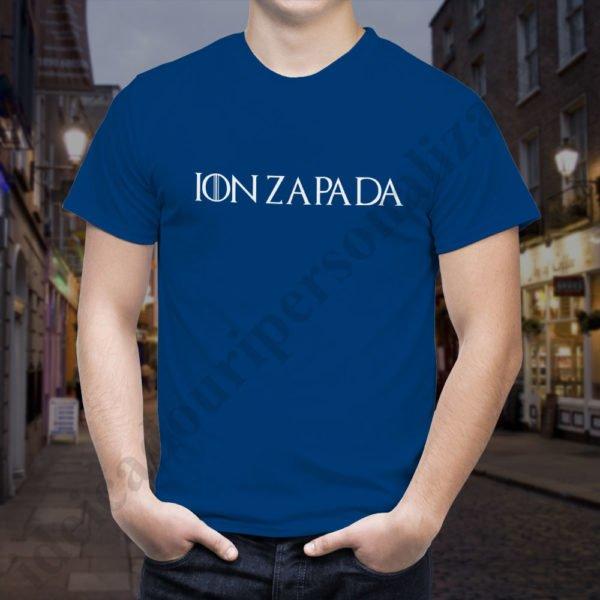 Tricou Ion Zapada, tricouri game of thrones, idei cadouri personalizate