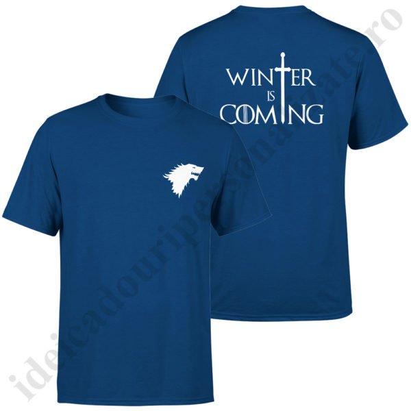 Tricou Stark - Barbat, tricouri game of thrones, idei cadouri personalizate
