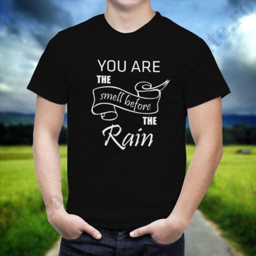 Tricou cupluri Rain, tricouri cupluri, idei cadouri personalizate