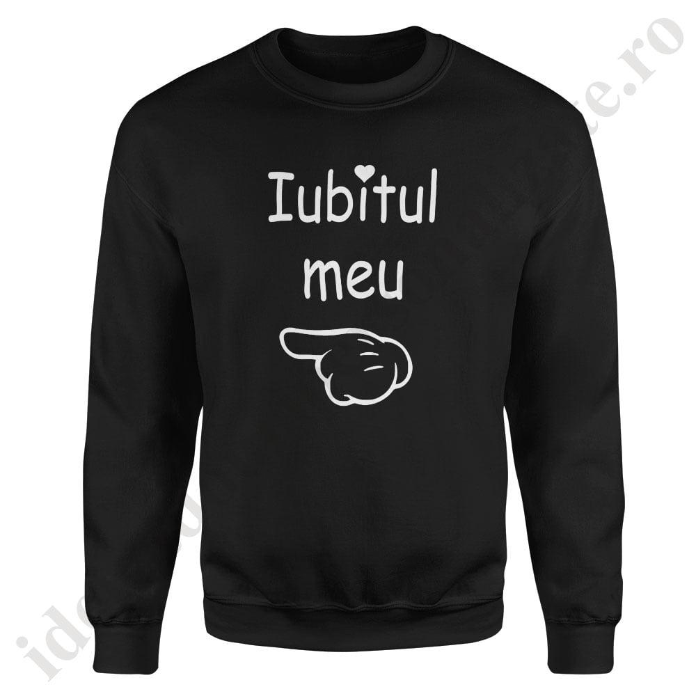autentic multe stiluri nuante de Pulover cupluri Iubitul Meu - Sweatshirt cu design modern, minimalist